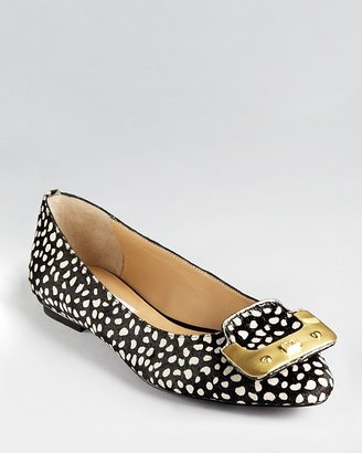 Diane von Furstenberg Flats - Madison Buckle Pointy