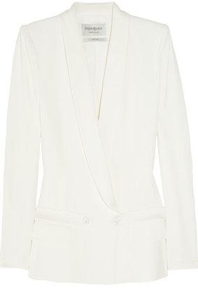 Yves Saint Laurent Satin tuxedo jacket