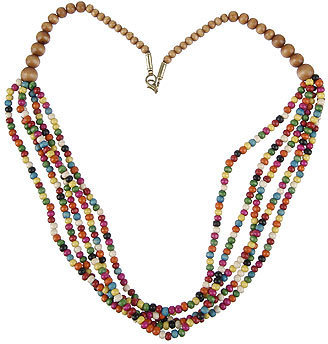 Forever 21 Aamori Beaded Necklace