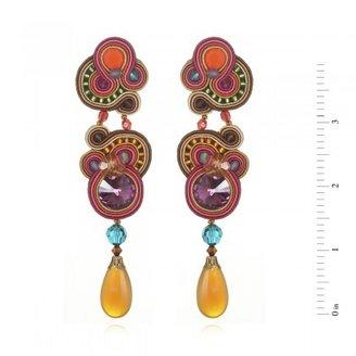 Dori Csengeri Large Phoenix Earrings