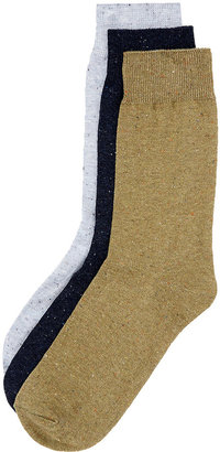 Topman Multi Nep 3 Pack Socks