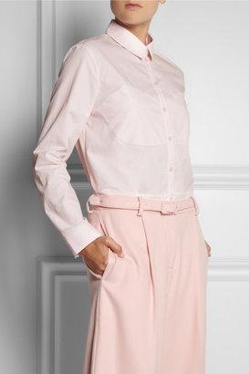 Simone Rocha Paneled cotton shirt