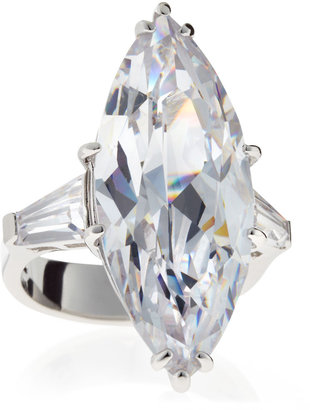 Kenneth Jay Lane CZ by Marquis Cubic Zirconia Ring