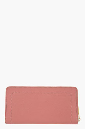 Marc Jacobs Blush pink Goat Leather The 1984 Deluxe wallet