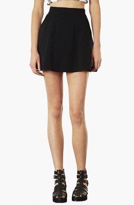 Topshop Pocket Skater Skirt