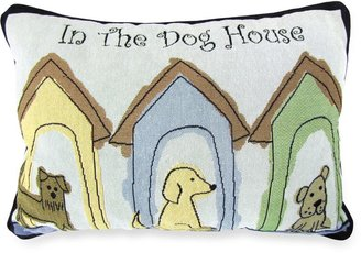 Bed Bath & Beyond PB Paws Pet Collection Dog Houses Tapestry Decorative Pillows (Set of 2)