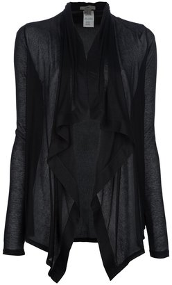 Helmut Lang drape cardigan