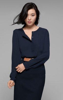 Theory Mavis Shirt in Saleya Silk