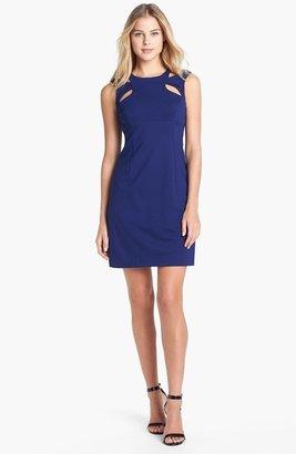 Betsey Johnson Cutout Detail Sheath Dress