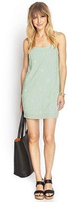 Forever 21 Contemporary Embellished Cami Dress