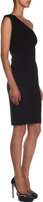 Saint Laurent One-shoulder Jersey Sheath