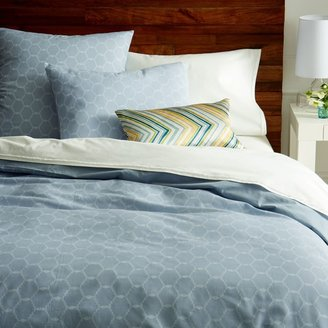 west elm Arabesque Jacquard Duvet Cover