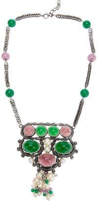 Christian Dior cabochon necklace