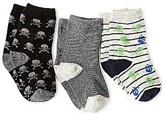 Joe Fresh Joe FreshTM 3-pr. Crew Socks - Boys