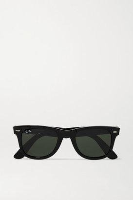 Ray-Ban - The Wayfarer Acetate Sunglasses - Black $150 thestylecure.com
