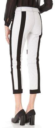 Derek Lam 10 crosby Double Face Cropped Pants