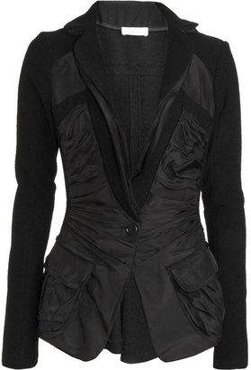 Nina Ricci Ruched Front Peplum Jacket