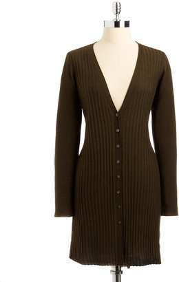 Eileen Fisher Plus Size Slim-Fit Wool Cardigan