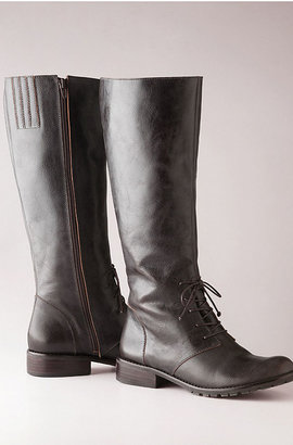 J. Jill Tall lace-up leather boots