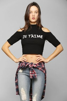 Truly Madly Deeply Je T'aime Fitted Tee