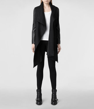 AllSaints Hide Monument Coat