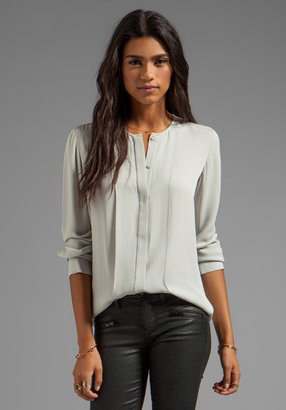 Theory Edera Silk Blouse