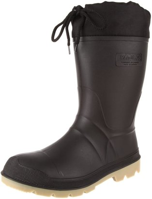 Kamik Men's Workday 3 Cold Weather Boot Black/Silver 10 M US
