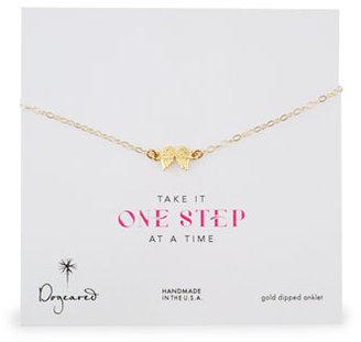 Dogeared 14k Gold Vermeil Angel Wings Anklet