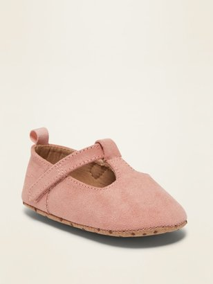 Old Navy Faux-Suede Mary-Janes for Baby
