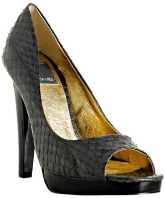 Dolce Vita bronze snake print leather 'Carmen' pumps