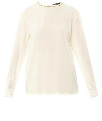 Max Mara Elegante Accento blouse