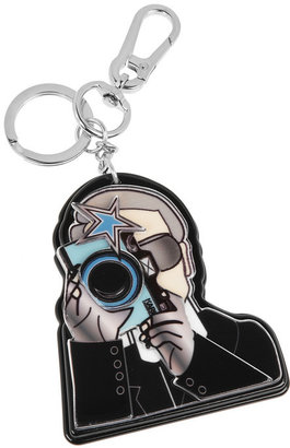 Karl Lagerfeld acrylic key fob