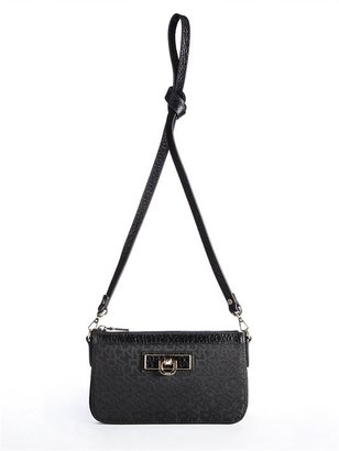 DKNY Town & Country French Grain Small Clutch With Chain Handle