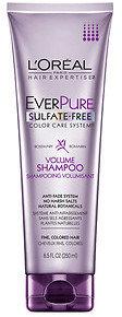 L'Oreal Hair Expertise EverPure Volume Shampoo, Rosemary