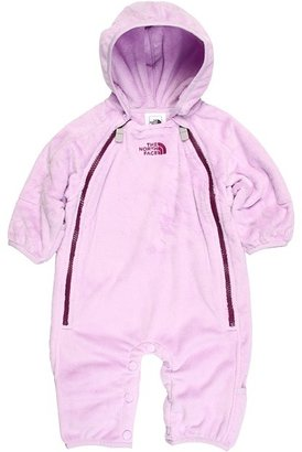 The North Face Kids - Buttery Fleece Bunting (Infant) (Delicate Purple/Premiere Purple) - Apparel