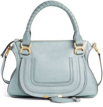 Chloé Medium Marcie Calfskin Leather Satchel