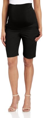 Maternal America Women's Maternity Belly Support City Shorts