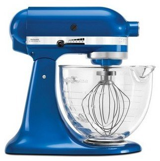 KitchenAid Platinum Collection Stand Mixer Electric Blue KSM156