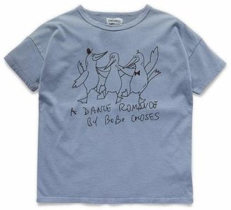 Bobo Choses Dancing Birds T-Shirt 2-8 Years