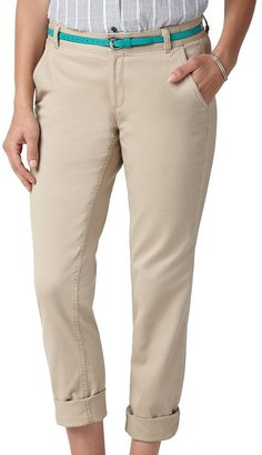 Dockers soft khaki truly slimming twill tapered pants - women's