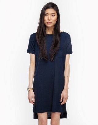 Alexander Wang Classic Boatneck Dress in Ink