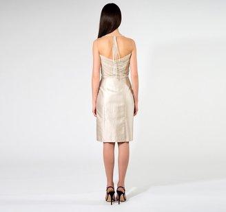 Alberta Ferretti Tulle and Organza Dress