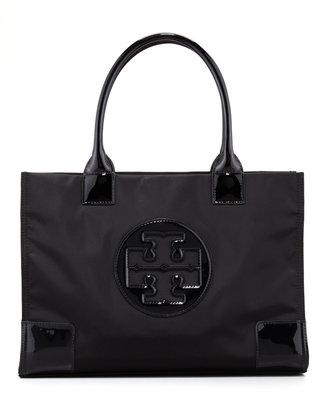 Tory Burch Mini Ella Tote Bag, Black