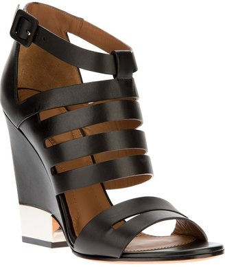 Givenchy cutout leather sandal