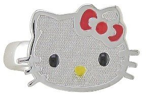 Hello Kitty Sterling Silver Ring 4