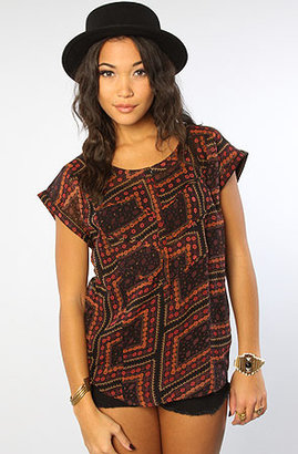Quiksilver QSW The Maple Gardens Blouse