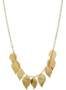 People Tree Leaf Necklace - Gold