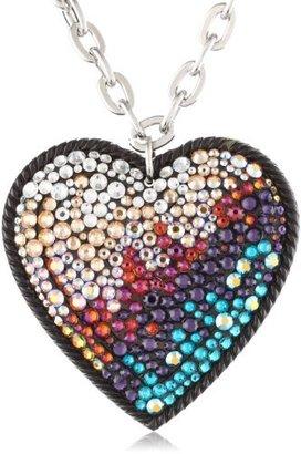 Tarina Tarantino Infrared Heart Necklace