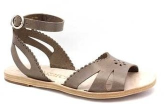 "Pedro Garcia Irene"" Grey Leather Sandal"
