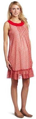 Jules & Jim Women's Maternity Adorable Voilage Dress